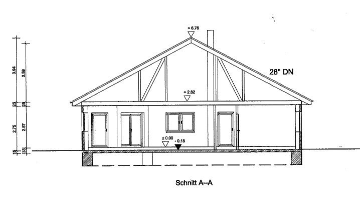 bungalow 140 m. Black Bedroom Furniture Sets. Home Design Ideas
